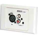 A4478 Local Input Wallplate (Suits A 4470/80)