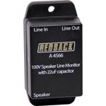 A4566 In-Line 22uF Speaker line Isolator Box