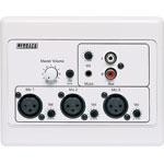 A4935 3 Input XLR Mic/Line Pre-Amplifier Wallplate