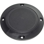 C0816 100mm Black Slim Ceiling Speaker Grill