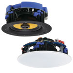 C0870 165mm 2 x 30W 2 Way Round Wi-Fi Ceiling Speaker Pair