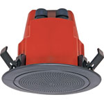 "C2171 100mm (4"") 100V 5W Ceiling EWIS Speaker Black AS ISO7240.24"