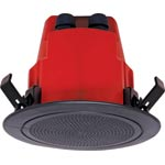 "C2173 100mm (4"") 100V 10W Ceiling EWIS Speaker Black AS ISO7240.24"