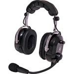 C9063A Aviation Headset Flexboom Electret Mic Black