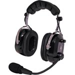 C9064A Aviation Headset Flexboom 200Ω Dynamic Mic Black