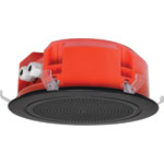 CF2135 200mm 100V 5W Ceiling EWIS Speaker Black Grille