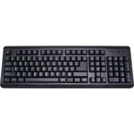 D2107 Standard USB Keyboard Black