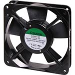 F1028 120mm 240VAC Sleeve Bearing Slimline Cooling Fan