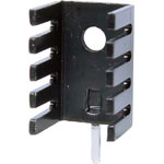 H0628 Micro U TO220 PCB Mount Heatsink