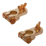 H1780 Gold Plated Battery Terminal Pair