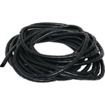 H3811A Black 12mm Cable Spiral Binding 10M