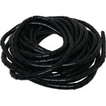 H3813A Black 20mm Cable Spiral Binding 10M