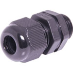 H4381 6-12mm MG16 Black IP68 Nylon Cable Gland