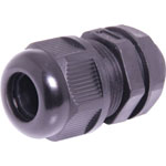H4382 11-14mm MG20 Black IP68 Nylon Cable Gland