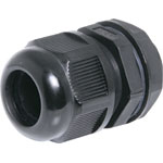 H4384 13-18mm MG25 Black IP68 Nylon Cable Gland