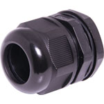 H4385 18-25mm MG32 Black IP68 Nylon Cable Gland