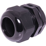 H4386 22-32mm MG40 Black IP68 Nylon Cable Gland