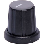 H6024 18mm Grey Cap D Shaft Plastic Knob