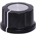 H6061 27mm Black Alum. Cap 1/4
