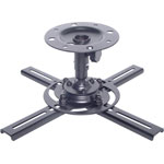 H8130A Black Ceiling Bracket Projector Balljoint 10kg