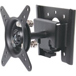 H8185 Wall Bracket LCD Black With Balljoint