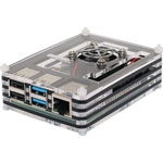 H8958 Acrylic Raspberry Pi 4 Case with Cooling Fan
