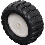J0102 White Plastic Wheel Rubber Tyre For Micro N20 Motors