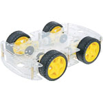 K1092 4WD Robot Builders Motorised Base