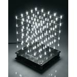 K8106 5 x 5 x 5 White LED USB Cube Kit