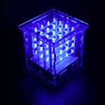 K8109 4x4x4 Arduino Based Blue LED Acrylic Cube Kit
