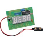 K8510 12V Pic Controlled Alarm Clock Kit