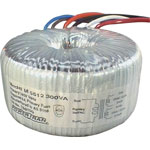 MC5530 30 + 30 300VA Toroidal Transformer with aux windings
