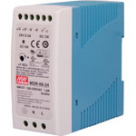 M8405A 60W 12VDC 5A DIN Rail Switchmode Power Supply