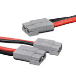 M8640 0.3m Piggyback Anderson Style Cable