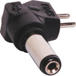 M9171 2.1mm x 5.5mm Right Angle DC Plug