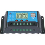N2018 12/24V 20A Solar Charge Controller With USB