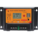 N2019A 12/24V 30A Solar Charge Controller With USB