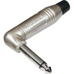 P0045 6.35mm 90 Deg. Mono Metal ACPM-RN Jack Plug