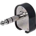 P0046 6.35mm 90 Degree Stereo Jack Plug