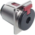 P0064 6.35mm Chassis Mount Heavy Duty Metal Jack Socket