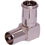 P0240 Right Angle PAL Male to PAL Female Adapter
