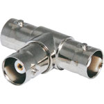P0392 3 Way BNC Female T Piece Adapter
