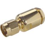 P0424 Solder On RG58U Gold Plated Male Plug SMA