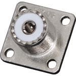 P0509 Chassis Mount Female Socket (4 Hole) SO239