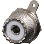 P0510 Chassis Mount Female Socket (1 Hole) SO239