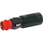 P0656 12VDC 15A Fused LED Male Line Merit Plug