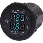 P0671A Panel Mount Voltage and Current Meter