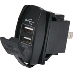 P0690A Dual USB Dash Mount 3.1A Charging Socket