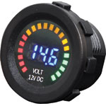 P0693 Panel Mount Volt Meter With Graph