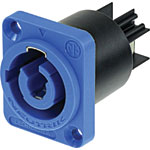 P0775 Powercon Male Chassis Plug 240V Mains 20A NAC3MPA-1